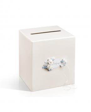 Pudełko na telegramy koperty Kremowe