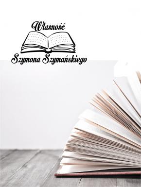 Stempel ex libris 30x40 Książka