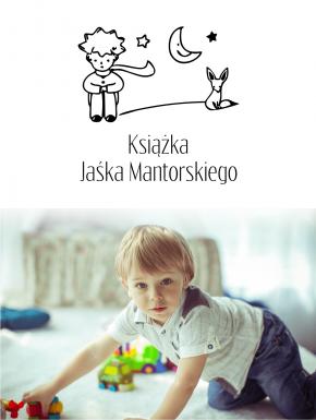 Stempel ex libris 50x50 Mały Książę
