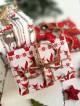 Poduszka do stemplowania + pudełko na prezent