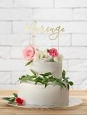 Topper na tort Mariage