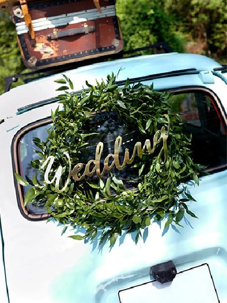 Baner Wedding Złoty