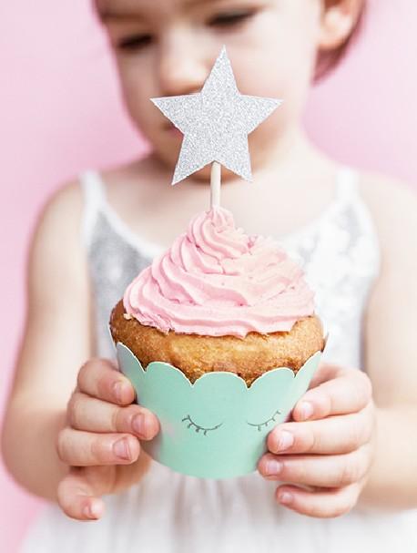 Gwiazdki do muffinek Jednorożec