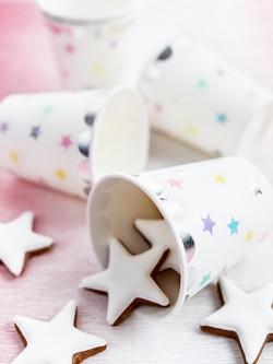 Kubeczki papierowe Jednorożec