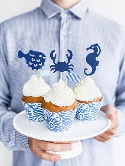 Dekoracje do muffinek Ahoy