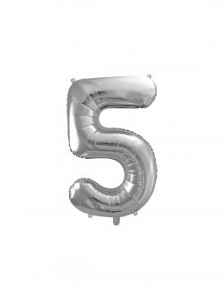 "Balon foliowy metalizowany Cyfra ""2"" Golden Rose 86cm"