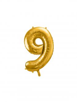Balon foliowy metalizowany Cyfra 86cm