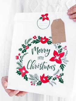 Torebki na prezenty Merry Little Christmas