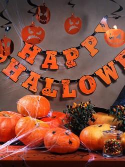 Baner Happy Halloween