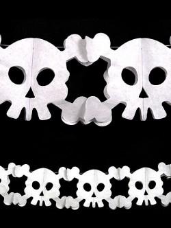 Girlanda czaszki
