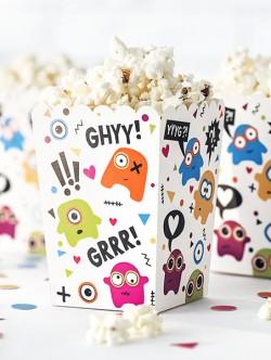 Pudełka na popcorn Potworki