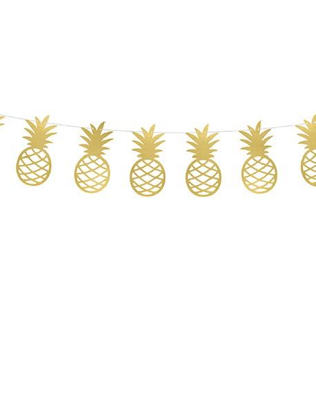 Girlanda Aloha Ananasy