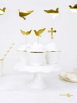 Topperki do muffinek Chrzest Komunia