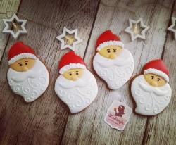 Piernik świąteczny artystyczny MIKOŁAJ