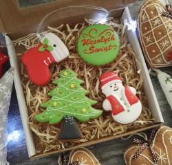 Piernik świąteczny artystyczny